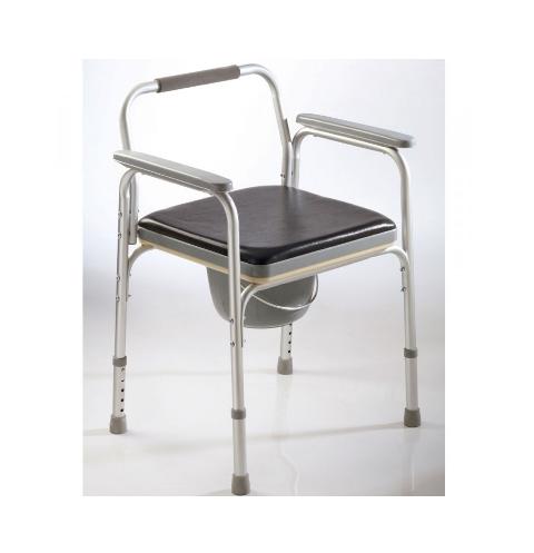 Inodoro Portátil: Modelo Aluminio Fijo