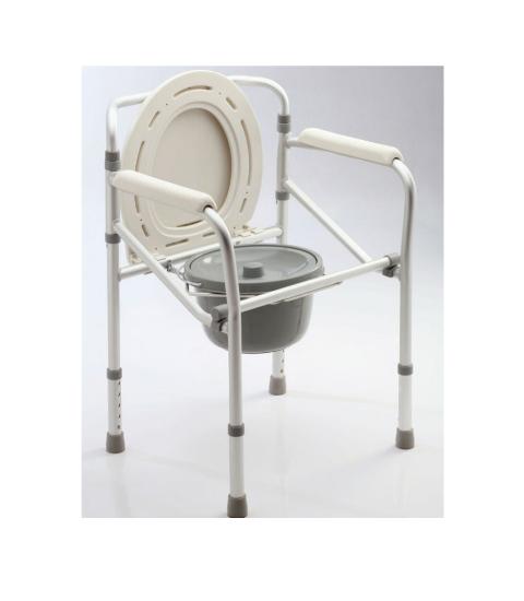 Inodoro Portátil: Modelo Aluminio Plegable