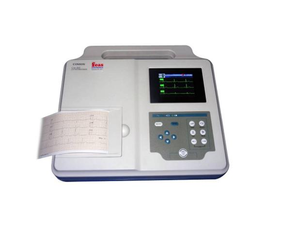 Electrocardiógrafo de 3 canales